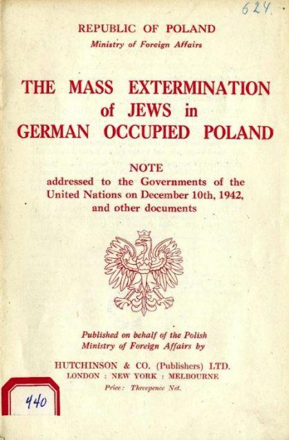 Le relazioni di Jan Karski alle Nazioni Unite