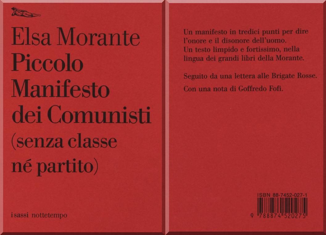 Piccolo manifesto